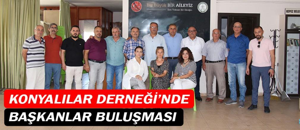 Konyalılar Derneği'nde başkanlar buluşması