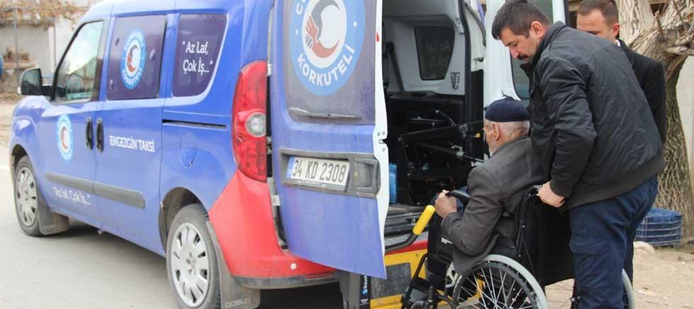 Korkuteli Belediyesi Cumhureli ile engelleri kaldırdı