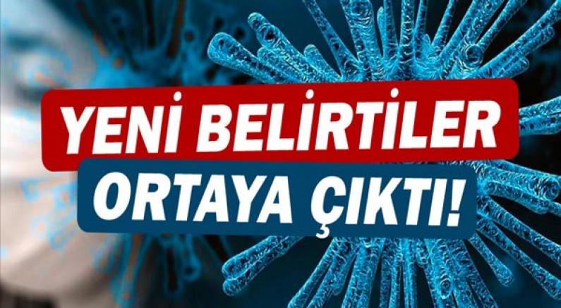 Koronavirüs'te yeni semptomlar!