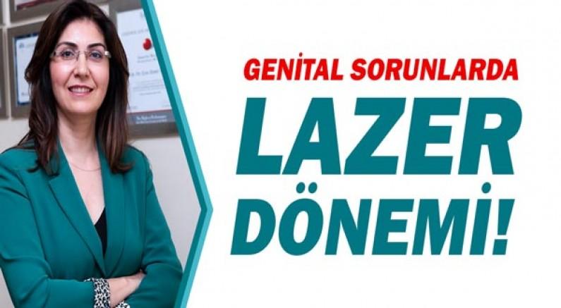 Lazer tedavileri hangi genital sorunlarda kullanılır?
