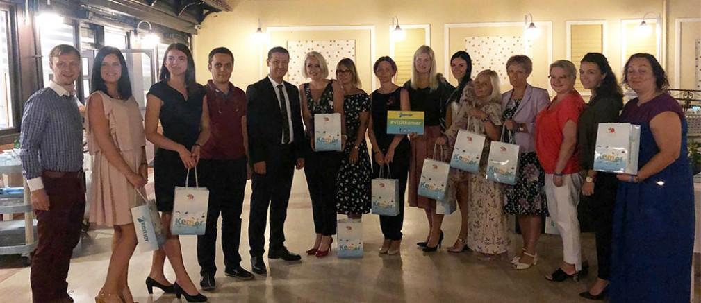 Letonyalı turizmcilere Kemer tanıtıldı...