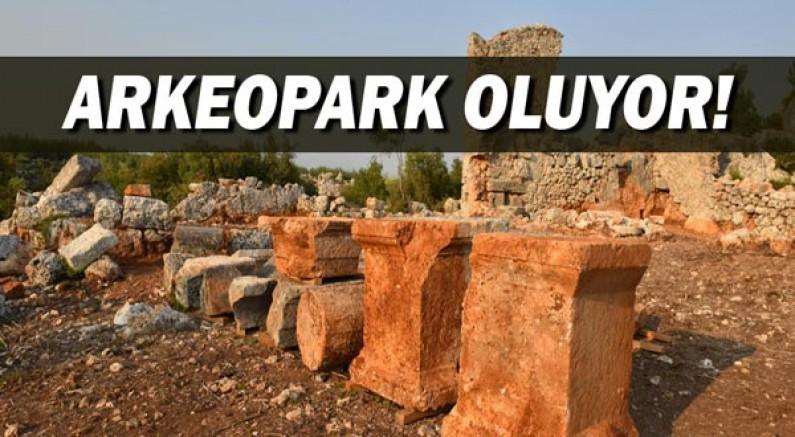 Lyrboton Kome 'Arkeopark' oluyor