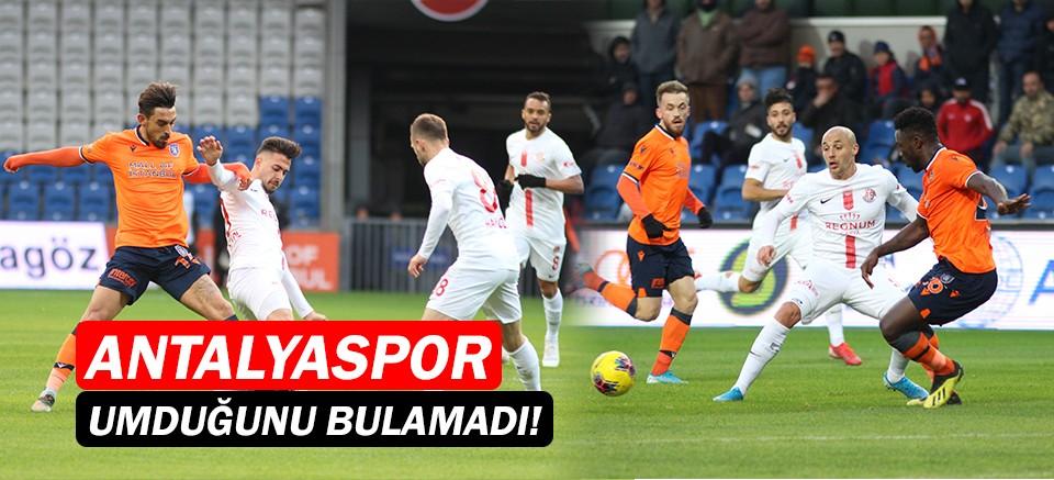 M.Başakşehir 2-0 Antalyaspor