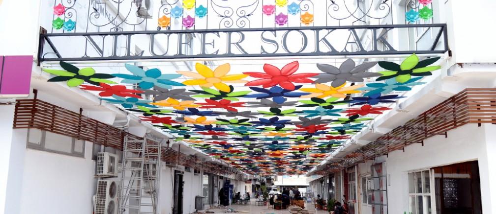 Manavgat'a Nilüfer Sokak...