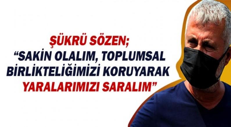 Manavgat Belediye Başkanı Şükrü Sözen'den