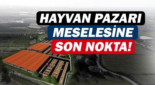 Manavgat Belediyesi canlı hayvan pazarı konusunda açıklama yaptı!