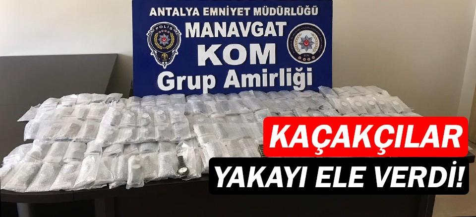 Manavgat'ta operasyon...Kaçakçılar yakayı ele verdi!