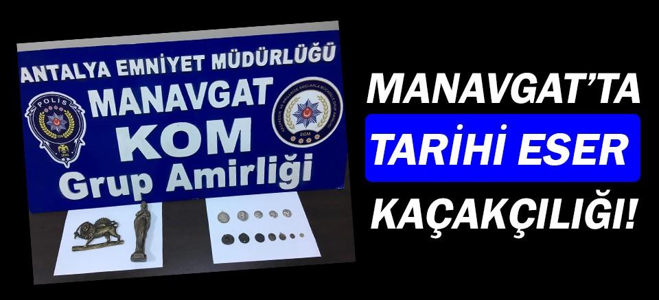 Manavgat'ta tarihi eser kaçakçılığı!