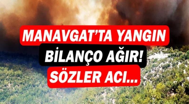 Manavgat'ta yangın! Tamamen yanan köyler var! Başkan Sözen'den acı sözler...