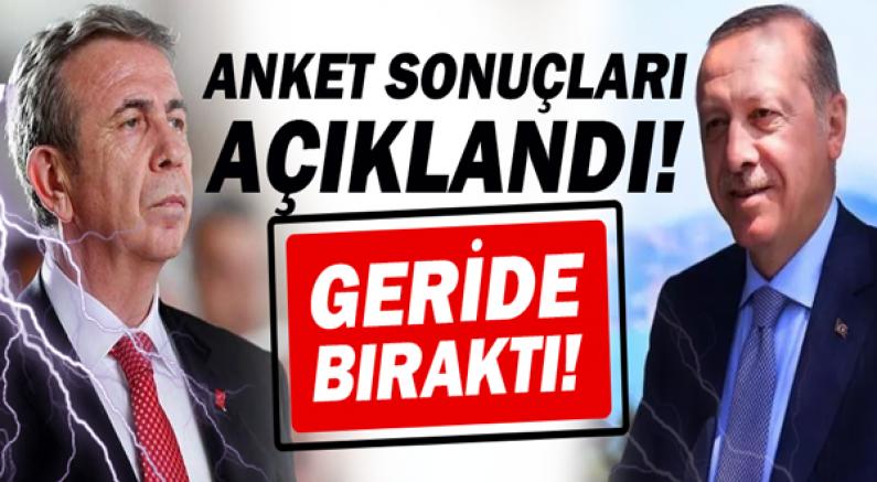 Mansur Yavaş, Recep Tayyip Erdoğan'ı geride bıraktı!