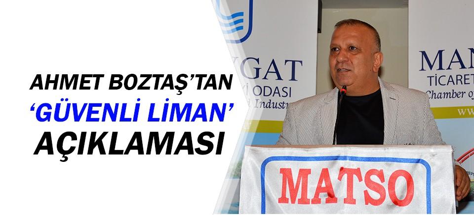 MATSO Başkanı Boztaş, sigortacılarla buluştu