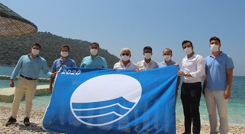 Mavi Bayrak Gökliman'da