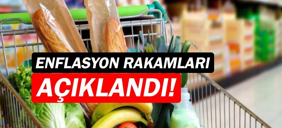 Mayıs ayı enflasyon rakamları açıkladı!
