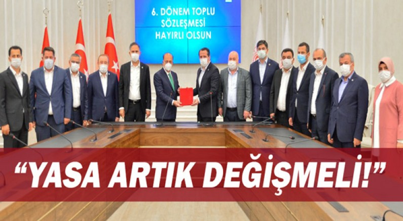 Memur-Sen Antalya İl Başkanı Ünal Hisarkaya,
