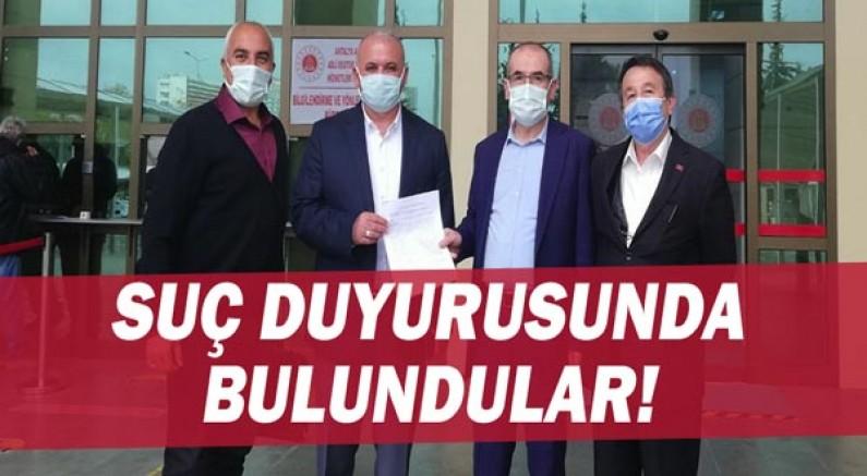 Memur-Sen Antalya İl Başkanlığı'ndan suç duyurusu!