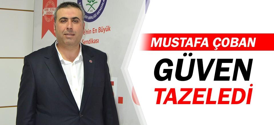 Memur Sen Antalya İl Temsilcisi Mustafa Çoban, güven tazeledi!