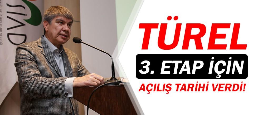 Menderes Türel, 3. Etap Raylı Sistem için tarih verdi!