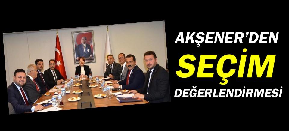 Meral Akşener'den Antalya değerlendirmesi