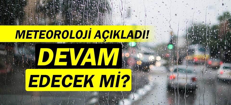 Meteoroloji açıkladı! | Antalya Hava Durumu |Yağışlar ne zaman bitiyor?