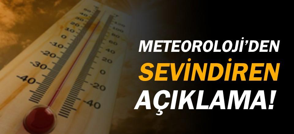 Meteoroloji açıkladı: Havalar ısınıyor!