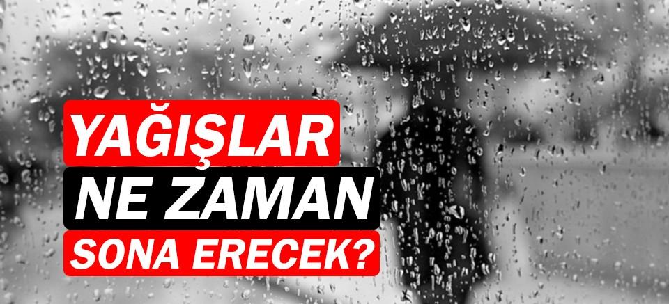 Meteoroloji duyurdu! | Antalya Hava Durumu | Yağışlar ne zaman bitiyor?