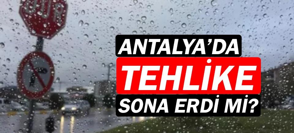 Meteoroloji duyurdu: Kırmızı kodlu uyarı kaldırıldı!