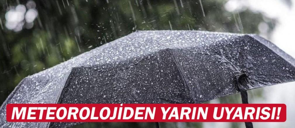 Meteoroloji Türkiye'yi uyardı....