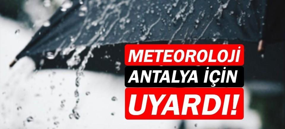 Meteoroloji uyardı! |Antalya Hava Durumu | 29 Kasım Hava durumu nasıl olacak?