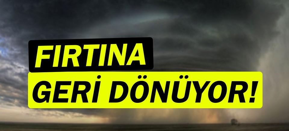 Meteoroloji uyardı! |Fırtına geliyor!| Antalya hava durumu...