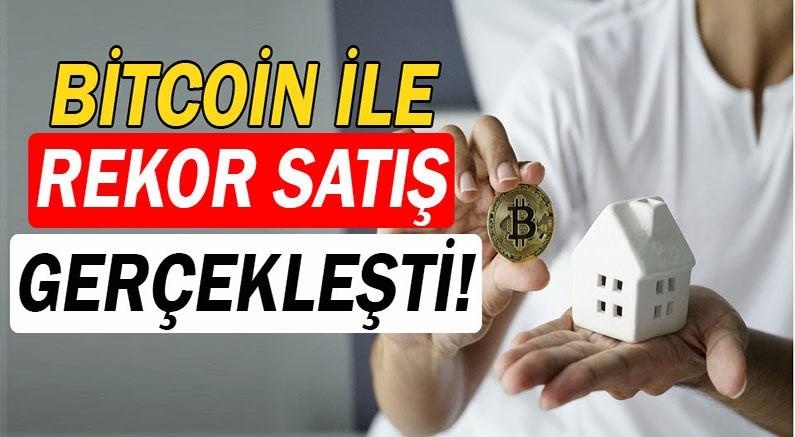 Milyonluk villa Bitcoin ile satıldı.