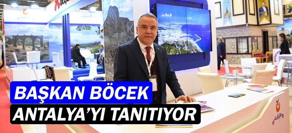 Muhittin Böcek, Antalya'yı tanıtıyor!