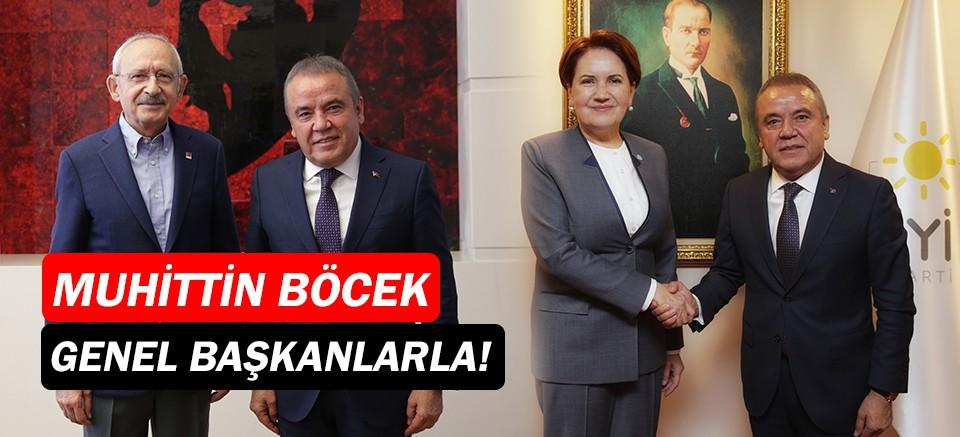 Muhittin Böcek'ten Kılıçdaroğlu ve Akşener'e ziyaret
