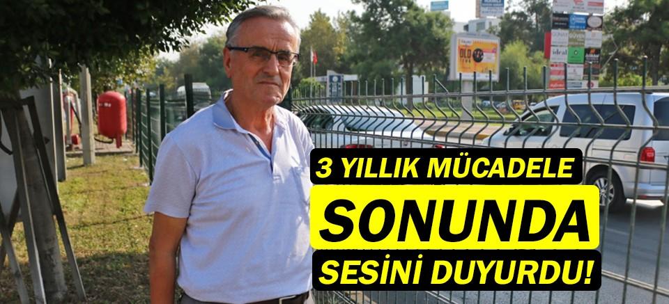 Muhtar Celal Gödüç'ün 3 yıllık sorunu çözüldü