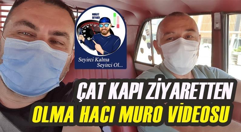 Murat Seyirci, adaşı Hacı Muro ile nostalji sürüşünde...