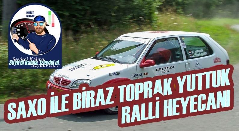 Murat Seyirci'nin anlatımı ile ralli yarışı aracı Citroen Saxo
