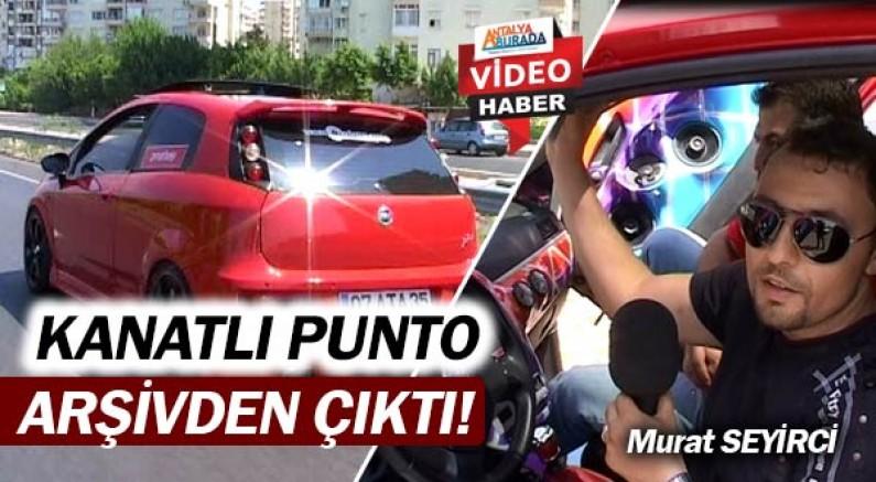 Murat Seyirci'nin arşivinden modifiyeli Grande Punto çıktı!