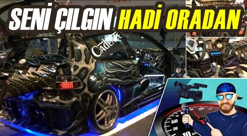 Murat Seyirci'nin konuğu ''Seni çılgın, hadi oradan'' diyeceğiniz modifiyeli Honda...