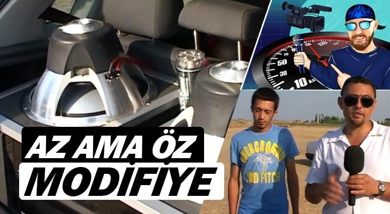 Murat Seyirci youtube kanalında bu kez baklava modifiyeli Polo