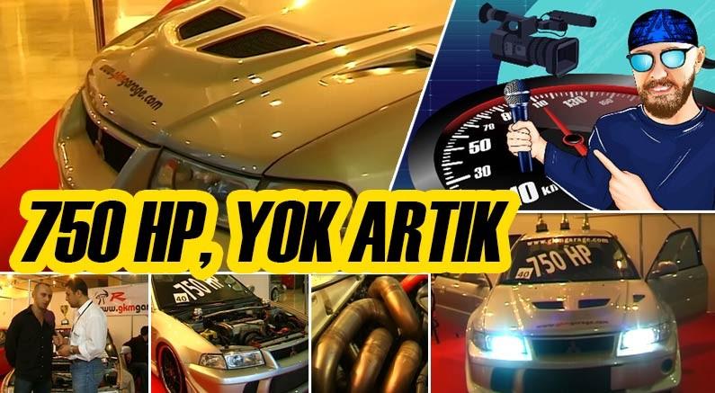 Murat Seyirci youtube kanalında Mitsubishi EVO 6 Tommi Makinen Edition