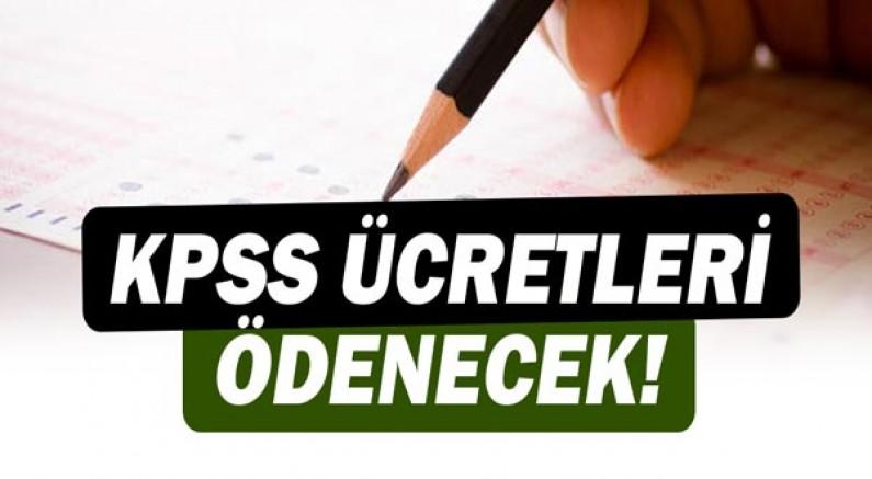 Muratpaşa Belediyesi KPSS ücretlerini ödeyecek!