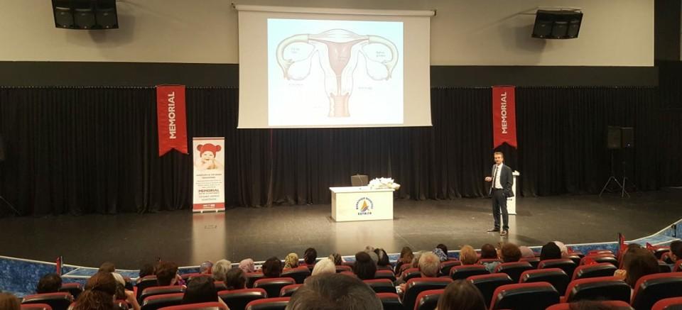 Muratpaşa'da kadın sağlığı için konferans