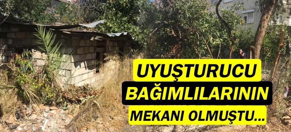 Muratpaşa'da metruk bina yıkıldı!
