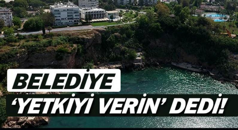 Muratpaşa, Şehircilik İl Müdürlüğü'nden 3 plaj için yetki istedi