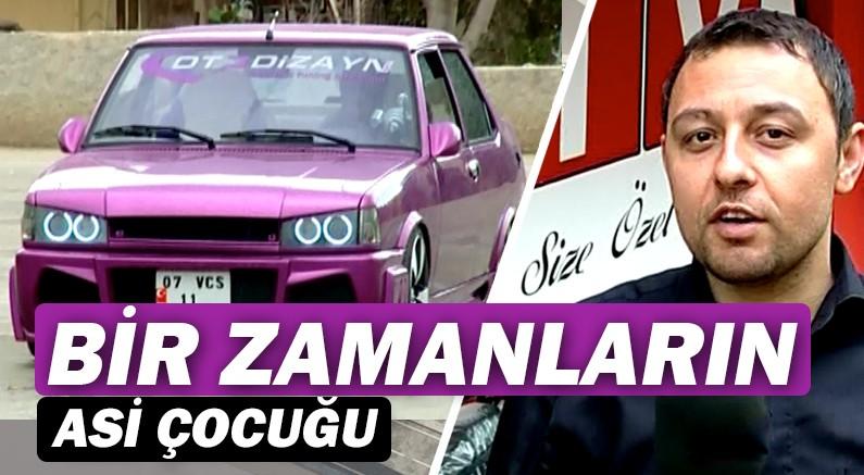 muratseyirci youtube kanalında, Antalya'nın haylazı modifiyeli pembe Şahin