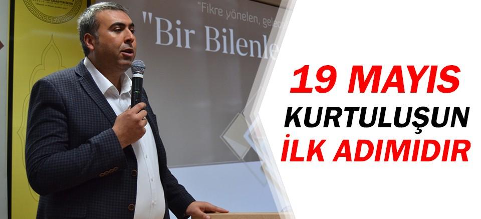 Mustafa Çoban: '19 Mayıs kurtuluşun ilk adımıdır'