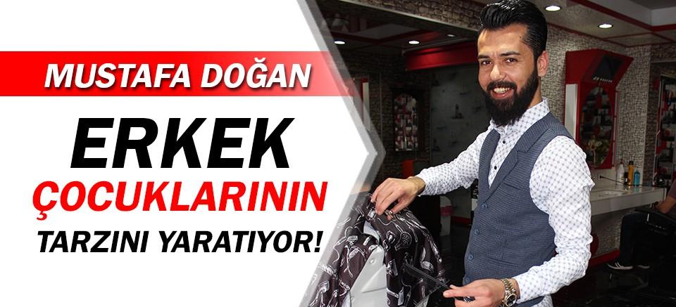 Mustafa Doğan Kuaför, erkek çocuklarının tarzını yaratıyor!