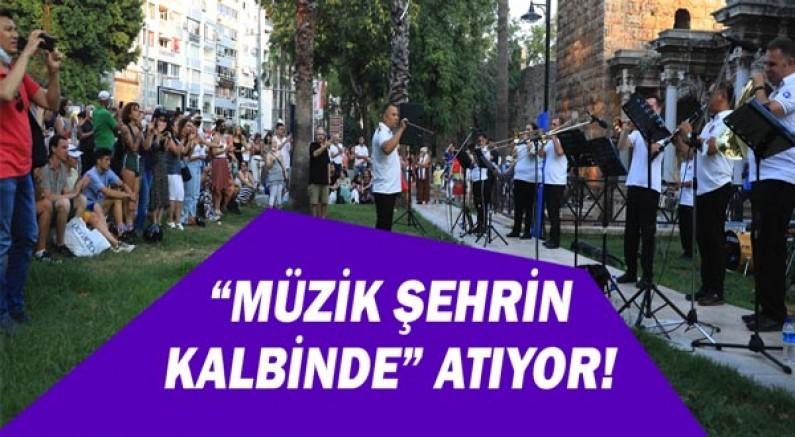"""""""Müzik Şehrin Kalbinde"""" atıyor"""