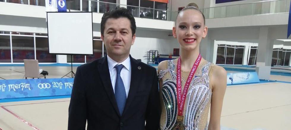 Nilgün Sarıoğlu Türkiye Şampiyonu