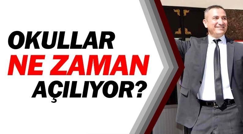 Okullarda yüz yüze eğitim olacak mı, Antalya Milli Eğitim Müdürü Hüseyin Er açıkladı.