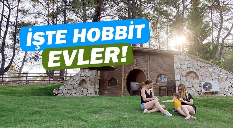 Olimpos'taki Hobbit Evler ilgi çekiyor!